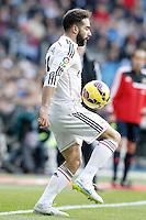 Real Madrid's Daniel Carvajal during La Liga match.January 31,2015. (ALTERPHOTOS/Acero) /NortePhoto<br /> /NortePhoto.com