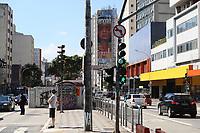 SÃO PAULO, SP, 03.06.2021 - ARTE-SP - Mural do artista visual Mauro Neri, pode ser visto na Rua da Consolação, próximo ao cruzamento com a Avenida Paulista, nesta quinta-feira, 3. (Foto Charles Sholl/Brazil Photo Press)