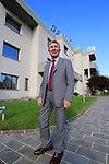 Pietro Santini company founder and President pictured outside the Santini Factory, Lallio, Italy. 30th September 2015.<br /> Picture: Eoin Clarke | Newsfile