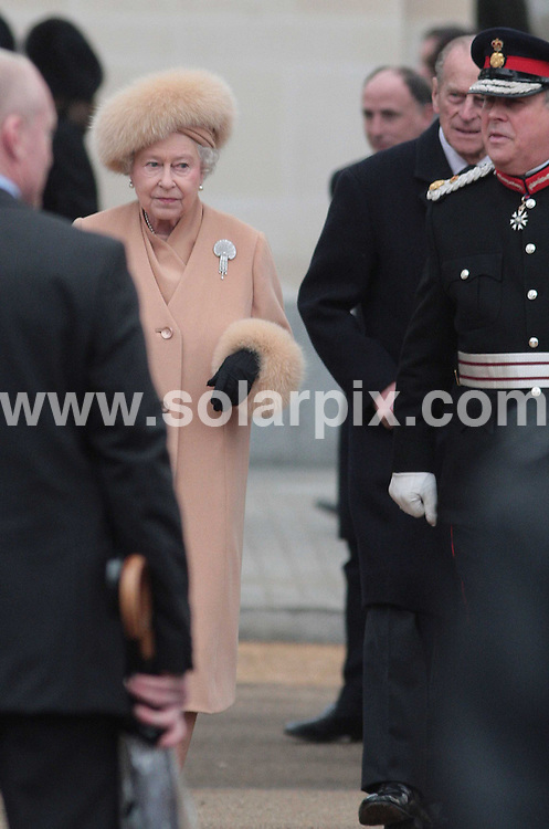**ALL ROUND PICTURES FROM SOLARPIX.COM**.**NO UK NEWSPAPER PUBLICATION**.**UK MAGAZINE & SUPPLEMENT PUBLICATION ONLY** AND NO PUBLICATION IN AUSTRALIA, FRANCE, GERMANY AND SCANDINAVIA** .A national monument to the Queen Mother was unveiled by the Queen on  The Mall in central London this afternoon..Sculptor Philip Jackson created the statue, which portrays the Queen Mother in her younger days wearing Order of the Garter robes and sits underneath a statue of her husband King George VI..The last memorial to a Royal consort was made to Queen Victoria's husband, the Prince Consort, with the Albert Memorial built from 1864-1876..JOB REF:    8547   SFE       DATE:  24.02.09.**MUST CREDIT SOLARPIX.COM OR DOUBLE FEE WILL BE CHARGED* *ONLINE USAGE FEE £50.00 PER PICTURE - NOTIFICATION OF USAGE TO PHOTO@SOLARPIX.COM*