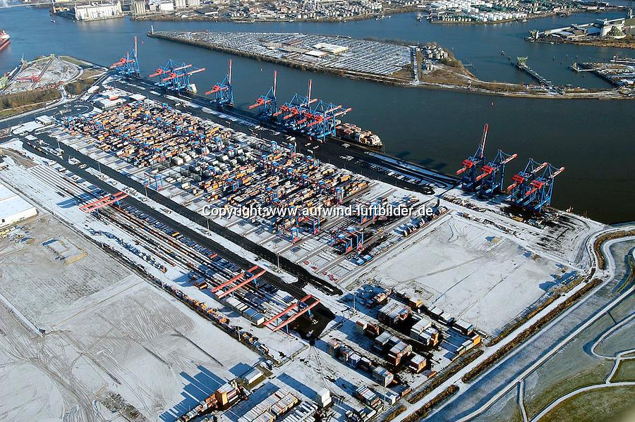 Deutschland, Hamburg, Containerterminal Altenwerder, CTA