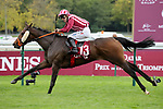 October 05, 2019, Paris (France) - Made To Lead (13) with Jerome Claudic up wins the Qatar Grand Handicap des Juments (Class 1) on October 5 at ParisLongchamp Race Course. [Copyright (c) Sandra Scherning/Eclipse Sportswire)]