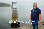 Fenit resident Mikey Moriarty concerned about jet ski users who are not obeying the rules in the water around Fenit