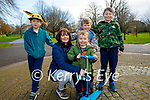The O'Connor family enjoying a stroll in the Tralee town park on Sunday, l to r: Irene, Paddy, Darragh, Tom and Sean O'Connor