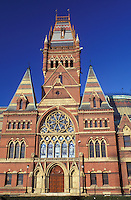 Harvard, university, Cambridge, MA, Massachusetts, Memorial Hall on the campus of Harvard University in Cambridge