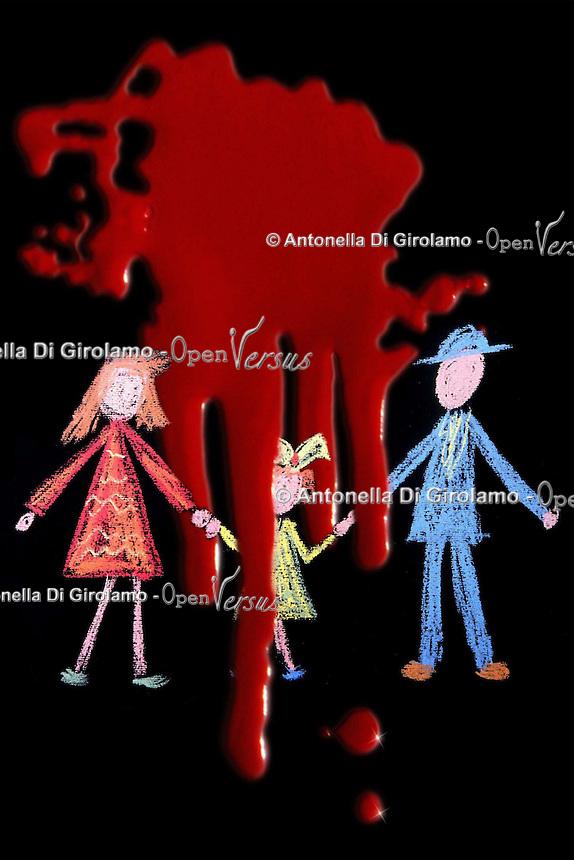 Società.Society.Famiglia.Family.Delitti in famiglia.Crimes in the family. .......