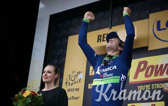 Michael Matthews (AUS/Orica-BikeExchange) wins<br /> stage 10 of the 2016 Tour de France