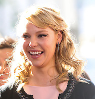 """LOS ANGELES, CA - JANUARY 11: Actress Katherine Heigl arrives at the World Premiere Of Open Road Film's """"The Nut Job"""" held at Regal Cinemas L.A. Live on January 11, 2014 in Los Angeles, California. (Photo by Xavier Collin/Celebrity Monitor)"""