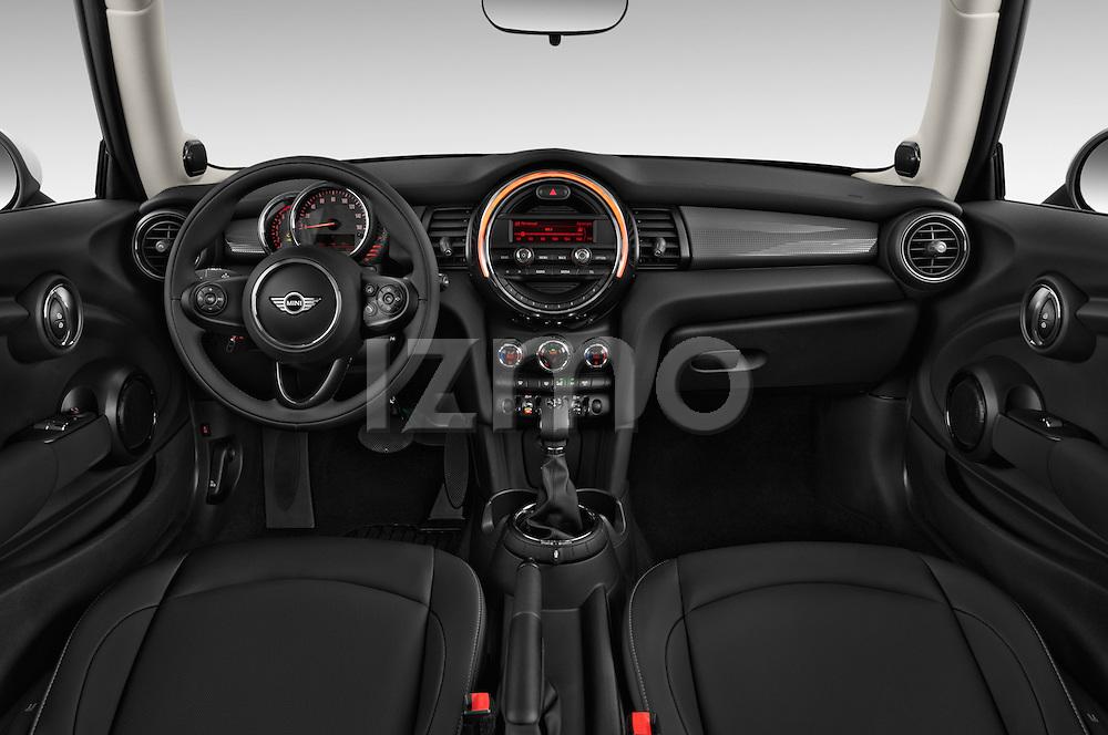 Straight dashboard view of a 2014 MINI Cooper Hardtop 3 Door Hatchback
