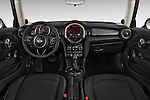 Straight dashboard view of a 2014 MINI Cooper Hardtop 3 Door Hatchback