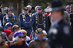 A large crowd attends the Pearl Harbor 75th Commemoration at the U.S.S. Nevada memorial at the Capitol in Carson City, Nev. on Wednesday, Dec. 7, 2016. <br />Photo by Cathleen Allison/Nevada Photo Source