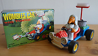 BNPS.co.uk (01202 558833)<br /> Pic: GillSeyfang/BNPS<br /> <br /> Womble Toy Car from the 1970's<br /> <br /> An environmentalist is selling the world's biggest Womble collection after the famous furry creatures inspired her to save the planet as a child.<br /> <br /> Gill Seyfang, a senior lecturer in Sustainable Consumption at the University of East Anglia, owns over 1,700 items relating the furry creatures.<br /> <br /> Her vast collection ranges from soft toys to rubbish bins and was recognised by the Guinness Book of Records in 2016.<br /> <br /> Ms Seyfang, from Norwich, Norfolk, began amassing the group in the 1970s and it has continued to grow ever since.