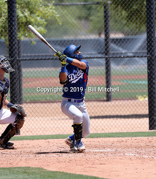 Alfonso Guillen - Los Angeles Dodgers 2019 extended spring training (Bill Mitchell)