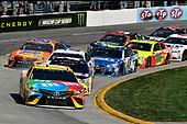 2017 Monster Energy NASCAR Cup Series<br /> STP 500<br /> Martinsville Speedway, Martinsville, VA USA<br /> Sunday 2 April 2017<br /> Kyle Busch, M&M's Toyota Camry<br /> World Copyright: Scott R LePage/LAT Images<br /> ref: Digital Image lepage-170402-mv-5287
