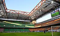 Calcio, Serie A: Inter Milano - AC Milan , Giuseppe Meazza (San Siro) stadium, in Milan, October 17, 2020.<br /> A view of San Siro stadium prior to the Italian Serie A football match between Inter and Milan at Giuseppe Meazza (San Siro) stadium, October 17,  2020.<br /> UPDATE IMAGES PRESS/Isabella Bonotto