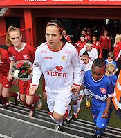 FC Twente - Standard Femina : Vanity Lewerissa<br /> foto DAVID CATRY / Nikonpro.be