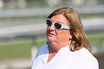 11 October 2009: Trainer Mary Hartmann after Presious Passion and Elvis Trujillo win the Clement L. Hirsch Turf Championship (GI) at Oak Tree at Santa Anita Park