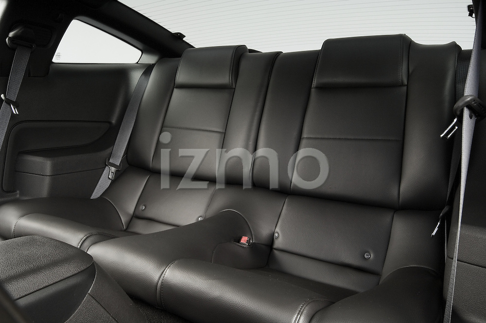 Rear back seats of a 2006 Ford Mustang Coupe