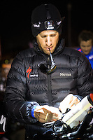 Jordan Rapp preparing for the Accenture Ironman California 70.3 in Oceanside, CA on March 29, 2014.