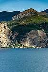 Italy, Lombardia, Tremosine sul Garda: district Campione del Garda on the West Bank of Lake Garda   Italien, Lombardei, Tremosine sul Garda: Ortsteil Campione del Garda am Westufer des Gardasees