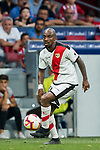 Gael Kakuta of Rayo Vallecano in action during the La Liga 2018-19 match between Atletico de Madrid and Rayo Vallecano at Wanda Metropolitano on August 25 2018 in Madrid, Spain. Photo by Diego Souto / Power Sport Images