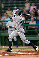 April 21 2010: Bradley Suttle (36) of the Tampa Yankees during a game vs. the Daytona Beach Cubs at Jackie Robinson Ballpark in Daytona Beach, Florida. Tampa, the Florida State League High-A affiliate of the New York Yankees, won the game against Daytona, the affiliate of the Chicago Cubs by the score of 4-1.  Photo By Scott Jontes/Four Seam Images