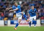 St Johnstone v Alashkert FC...09.07.15   UEFA Europa League Qualifier 2nd Leg<br /> Steven MacLean<br /> Picture by Graeme Hart.<br /> Copyright Perthshire Picture Agency<br /> Tel: 01738 623350  Mobile: 07990 594431