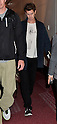 Andrew Garfield arrives in Japan