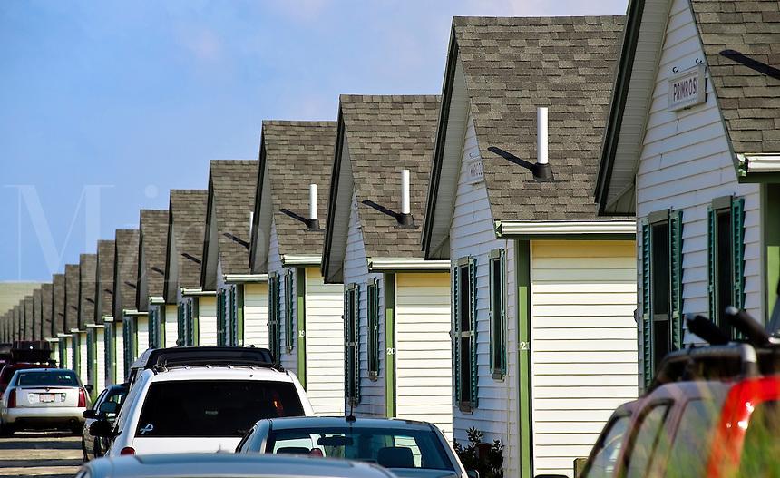 Beach cottages, Truro, Cape Cod, MA, USA