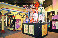 Mardi Gras costumes display in The Museum of Mobile Alabama