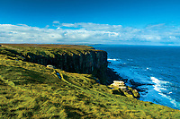 Cliffs at Dunnet Head, mainland Britain's northernmost point, Caithness