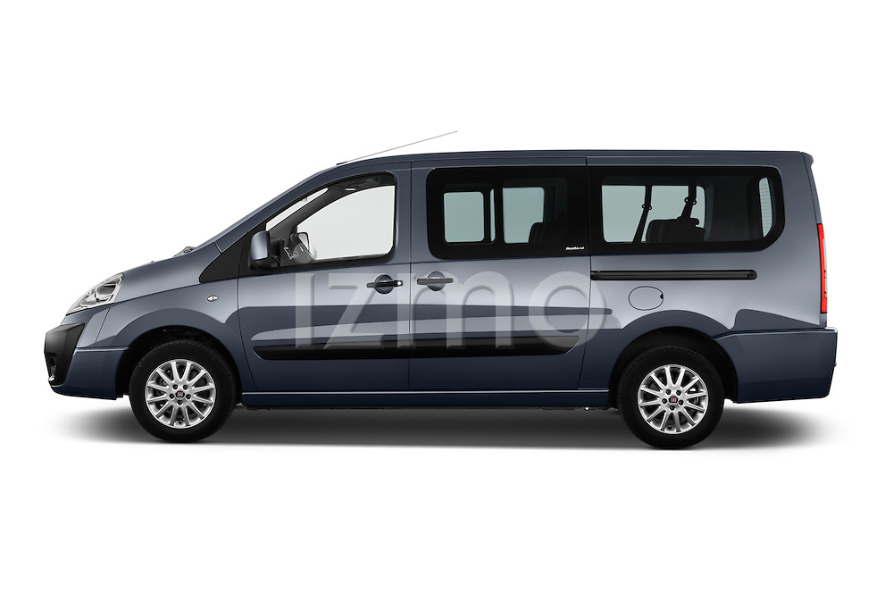 Car Driver side profile view of a 2015 Fiat SCUDO EXECUTIVE 5 Door Combi Side View