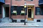 N.A., USA, Massachussetts, Boston, Beacon Hill, Townhouse