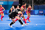 Liz Thompson. Women's Pool B match between New Zealand and Japan, Oi Hockey Stadium, Tokyo, Japan, Monday 26 July 2021. <br /> Photo: AlishaLovrich/HockeyNZ/www.bwmedia.co.nz