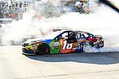 Monster Energy NASCAR Cup Series<br /> Apache Warrior 400<br /> Dover International Speedway, Dover, DE USA<br /> Sunday 1 October 2017<br /> Kyle Busch, Joe Gibbs Racing, M&M's Caramel Toyota Camry, Wins at Dover.<br /> World Copyright: John K Harrelson<br /> LAT Images