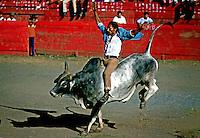 Corrida de touros em Manágua, Nicarágua. 1981. Foto de Juca Martins.