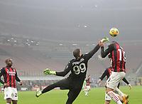 Milano  23-12-2020<br /> Stadio Giuseppe Meazza<br /> Campionato Serie A Tim 2020/21<br /> Milan Lazio<br /> nella foto:  Gianluigi Donnarumma                                                       <br /> Antonio Saia