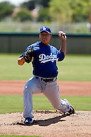 Hong-Chih Kuo -  Los Angeles Dodgers - 2009 extended spring training. Kuo pitches for a rehab appearance in a game against the Royals at the Dodgers training complex in Glendale, AZ - 05/24/2009..Photo by:  Bill Mitchell/Four Seam Images