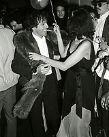 Jagger Rubell6695.JPG<br /> New York, NY 1978 FILE PHOTO<br /> Biana Jagger, Steve Rubell<br /> Studio 54 First Anniversary<br /> Digital photo by Adam Scull-PHOTOlink.net<br /> ONE TIME REPRODUCTION RIGHTS ONLY<br /> NO WEBSITE USE WITHOUT AGREEMENT<br /> 718-487-4334-OFFICE  718-374-3733-FAX