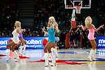 Cheerleaders during FIBA Basketball World Cup Spain 2014 final match between United States and Serbia at `Palacio de los deportes´ stadium in Madrid, Spain. September 14, 2014. (ALTERPHOTOSVictor Blanco)