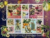 ,LANDSCAPES, LANDSCHAFTEN, PAISAJES, LornaFinchley, paintings+++++,USHCFIN0210AZ,#L#, EVERYDAY ,vintage,stamps,puzzle,puzzles