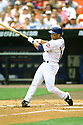 FLUSHING MEADOWS - CIRCA 2002:  Roberto Alomar #12 of the New York Mets bats during an MLB game at Shea Stadium in Flushing Meadows, New York. Alomar played for 17 seasons with 7 different teams was a 12-time All-Star and was inducted in the Baseball Hall of Fame in 2011. (David Durochik / SportPics) --Roberto Alomar