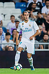 Lucas Vazquez of Real Madrid in action during their La Liga 2017-18 match between Real Madrid and Valencia CF at the Estadio Santiago Bernabeu on 27 August 2017 in Madrid, Spain. Photo by Diego Gonzalez / Power Sport Images