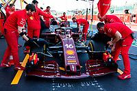 11th September 2020; Mugello race track, Scarperia e San Piero, Tuscany, Italy ; Formula 1 Grand Prix of Tuscany, Free practise; Grand Prix of Toscana, 16 Charles Leclerc MCO, Scuderia Ferrari Mission Winnow