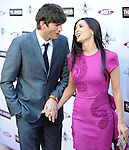 Demi Moore & Ashton Kutcher at the L.A. Premiere of The Joneses held at The Arclight Theatre in Hollywood, California on April 08,2010                                                                   Copyright 2010  DVS / RockinExposures