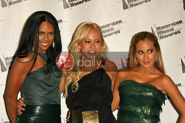 Cheetah Girls<br />in the press room at the 34th Annual American Music Awards. Shrine Auditorium, Los Angeles, CA. 11-21-06<br />Dave Edwards/DailyCeleb.com 818-249-4998