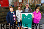Doreen and Christina O'Connor, Brendan Reidy and Joanna O'Sullivan launching Chloe's Journey fundraiser at the Manor Inn Killorglin on Monday, which is going ahead on Saturday night at the Manor Inn in Killorglin.