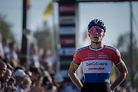 Mathieu van der Poel (NED/Beobank-Corendon) wins once again<br /> <br /> Elite Men's Race<br /> CX Super Prestige Zonhoven 2017