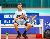 Wateringen, The Netherlands, December 8,  2019, De Rhijenhof , NOJK juniors 14 and18 years, Finals boys 14 years Abel Forger  (NED)<br /> Photo: www.tennisimages.com/Henk Koster