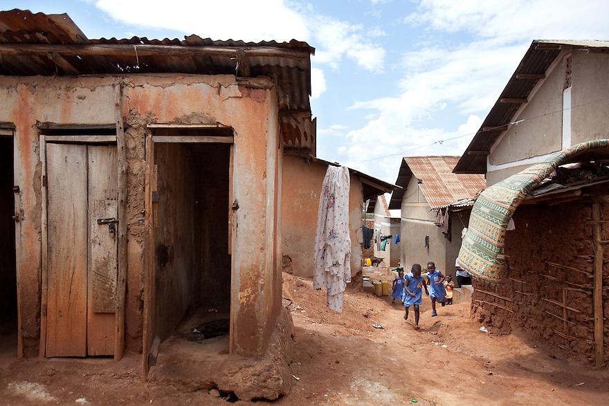 For WATERAID (UK)<br /> <br /> 2010 - Sanitation in Kifumbira, Kawempe Division, Kampala, Uganda.